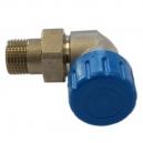 Zawór termostatyczny - osiowo prawy