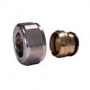 Złączka zaciskowa do rury z miedzi GW M22 x 1,5 x 15mm niklowana