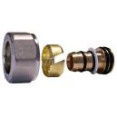 Złączka zaciskowa do rury z tworzywa sztucznego GW M22 x 1,5 - 16x2 niklowana?