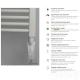 Grzałka elektroniczna łazienkowa HEATPOL GE Biała (regulacja temperatury, funkcja Turbo, rozłączny element grzejny)